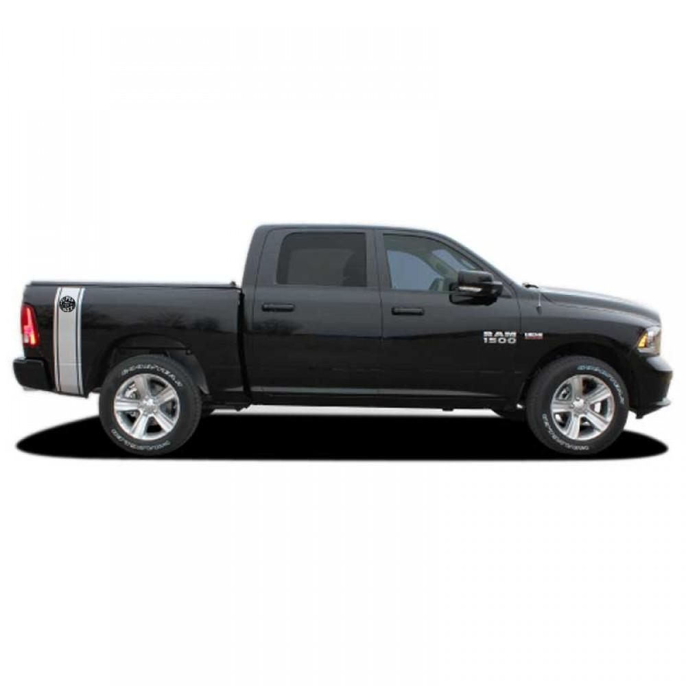 Rumble Stripe Bee 2009-2015 Ram 1500 Vinyl Kit