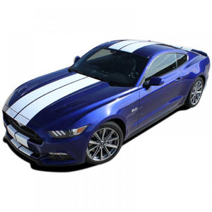 Stallion #1 with XM and Spoiler 2015-2018 Ford Mustang Vinyl Kit