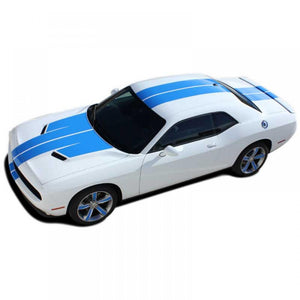 15 Challenge Winged Rally #4 no XM / with Spoiler 2015-2019 Dodge Challenger Vinyl Kit