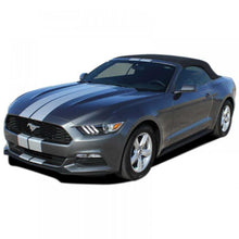 "Load image into Gallery viewer, Stallion Slim #1 with XM and Spoiler 7"" stripe 2015-2018 Ford Mustang Vinyl Kit"