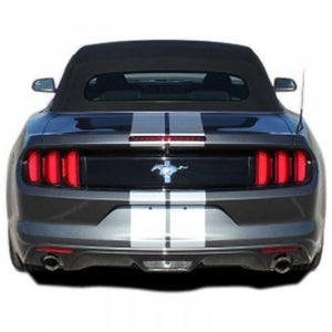 "Stallion Slim #3 with XM no Spoiler 7"" stripe 2015-2018 Ford Mustang Vinyl Kit"