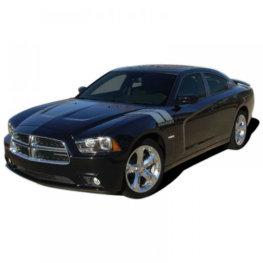 Charger 15 Double Bar (R/T Name) 2015-2020 Dodge Charger Vinyl Kit