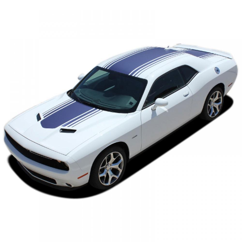 Shaker #3 (Shark Ant / Any Spoiler) 2015-2019 Dodge Challenger Vinyl Kit