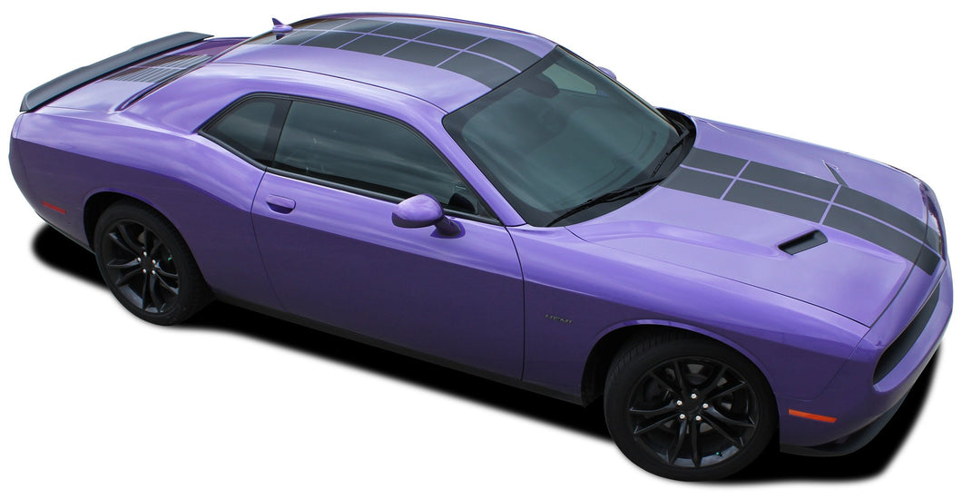 Pulse (No Ant) 2015-2019 Dodge Challenger Vinyl Kit