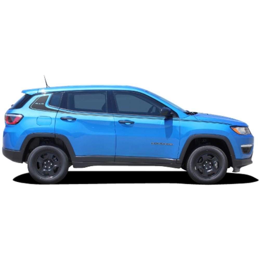 Altitude (4x4) 2017-2018 Jeep Compass Vinyl Kit