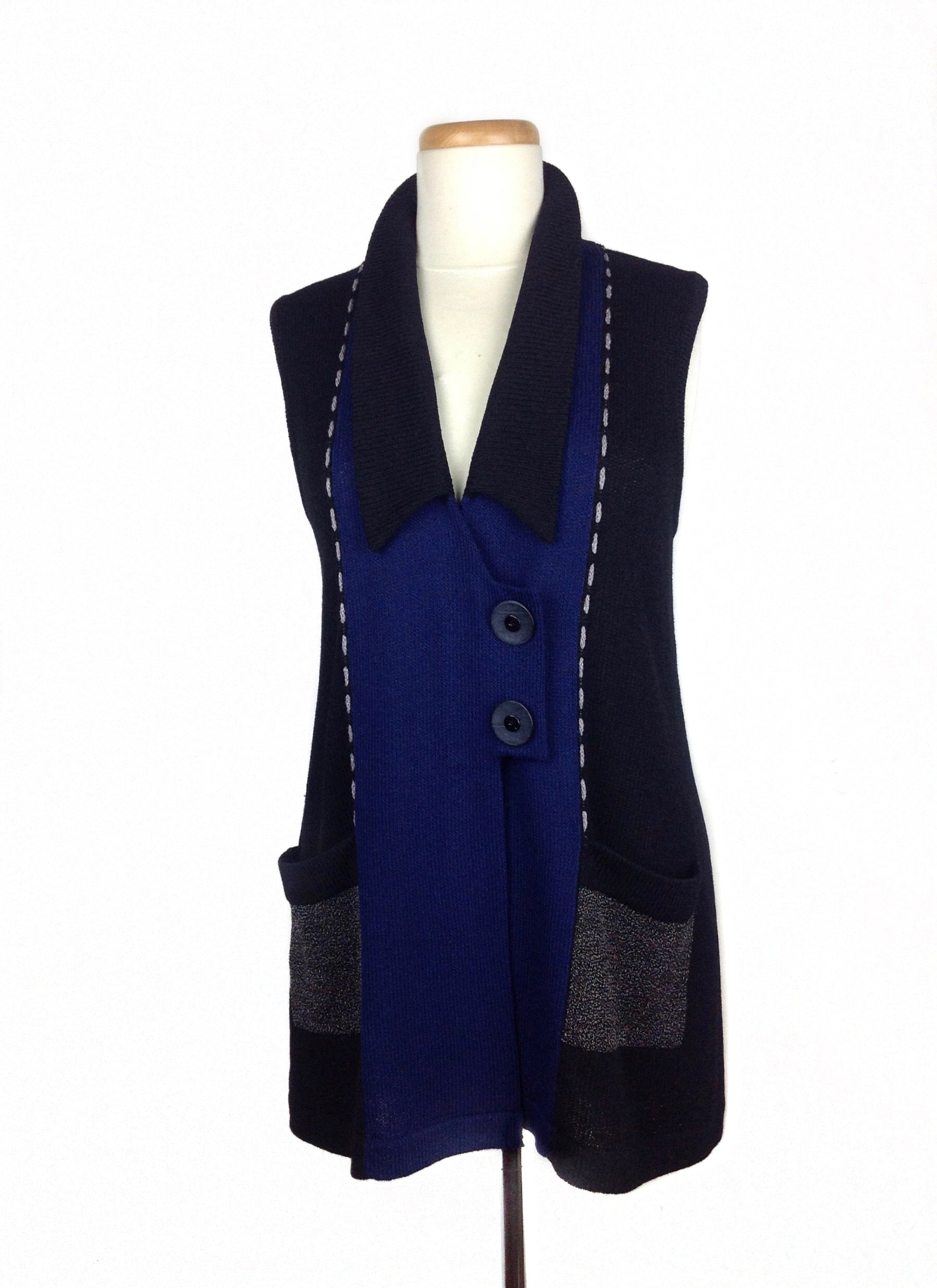 818 Double Button Vest