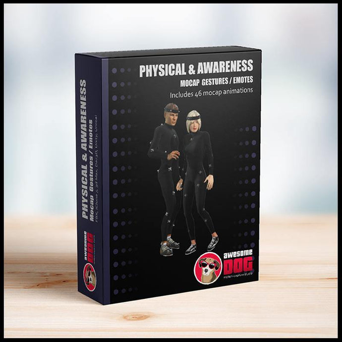 61 Physical & Awareness Gestures - Awesome Dog Mocap
