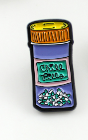Chill Pills Pin