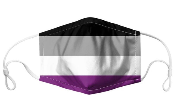 Asexual Pride Cloth Face Mask