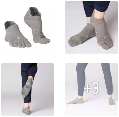 SOCKS FOR YOGA 5 FINGERS NON-SLIDING DOMIOS