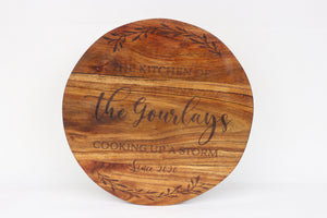 Personalised Chopping Board/Cheese Board/Bread Board/ Serving Platter