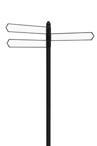 customisable directional signpost for business