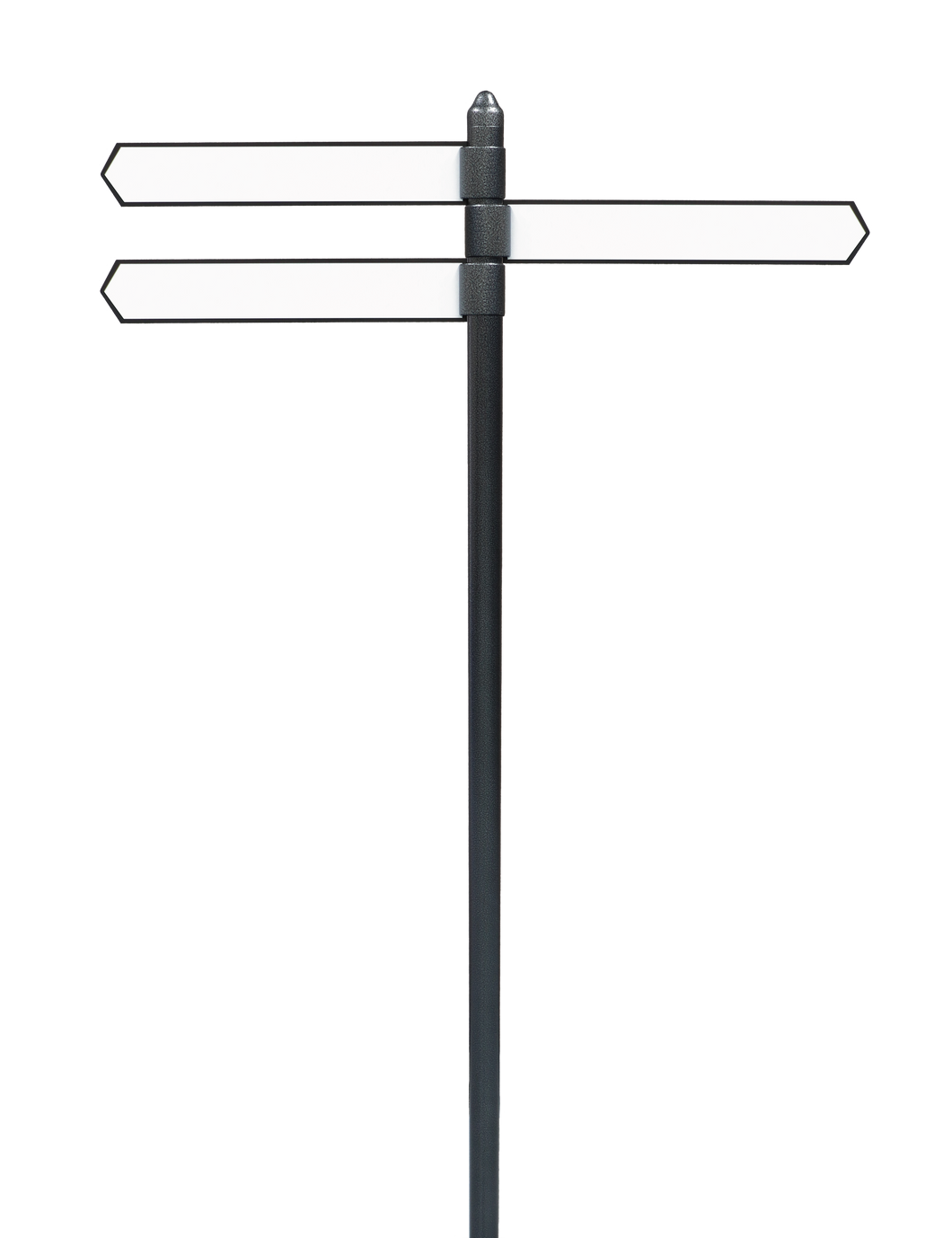 customisable directional sign posts