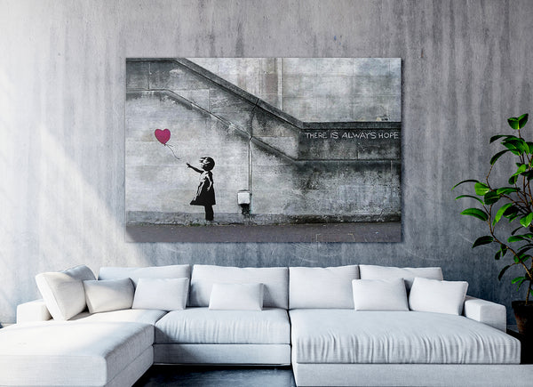 Banksy: Girl with a Red Balloon