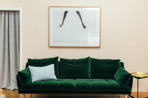 How Do You Decorate a Large Wall Over a Couch? Artwork