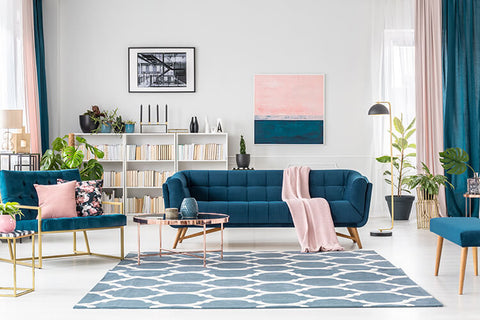 How Do You Decorate a Large Wall Over a Couch? Mix and Match