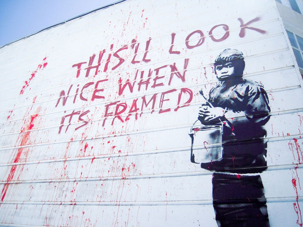 Craving for Banksy collection
