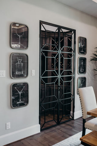 grilles have a more contemporary style