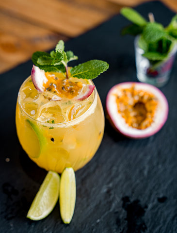 Passionfruit Caprioska cocktail Newy Distillery