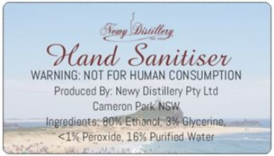 Hand Sanitiser - 1 Litre bottle