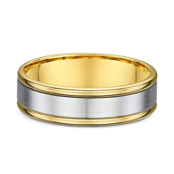 Dora Made to Order: Men's Brushed & Polish Ring