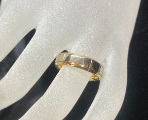 9ct Two Tone Men's Ring