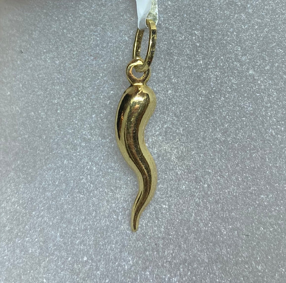 18ct Yellow Gold Horn of Plenty Pendant