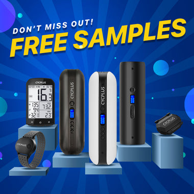 GET FREE SAMPLES FROM CYCPLUS