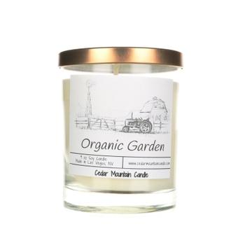 Organic Garden Farmhouse Soy Candle