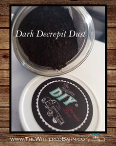 DIY PAINT - Decrepit Dust 'Dark'