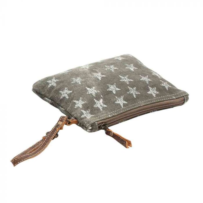 Stars Distressed Pouch - Myra Bag
