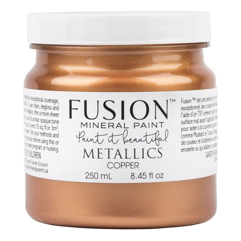 Fusion Metallic Paint - Copper