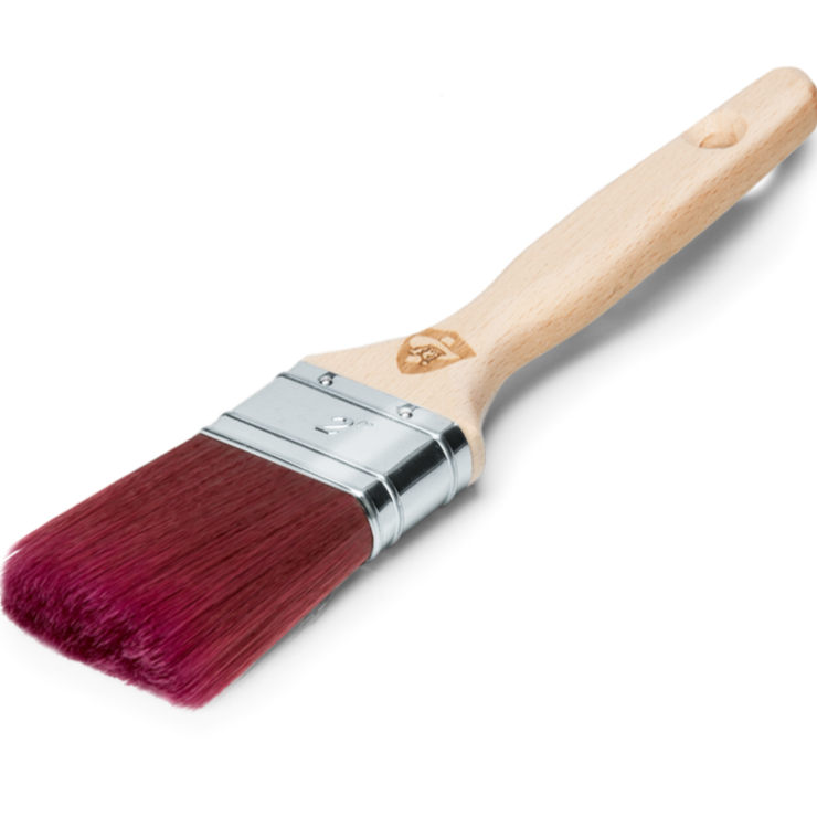 Flat Pro-Hybrid No.10 (1in) Paintbrush by Staalmeester