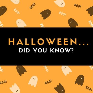Halloween...did you know?