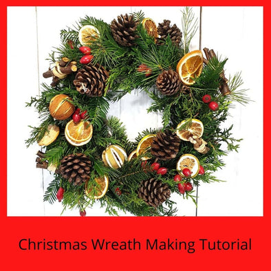 Christmas Wreath Making Tutorial