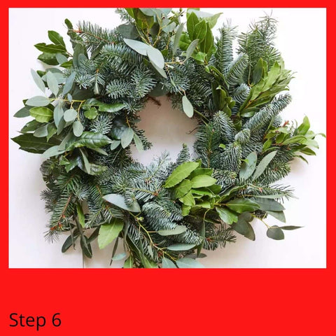 Natural Christmas Wreath delivery UK