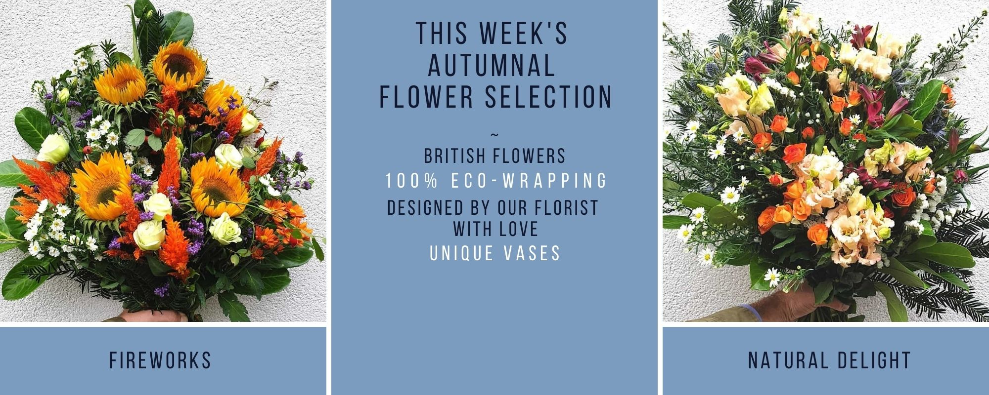 The Hiden Collective Autumn Bouquets