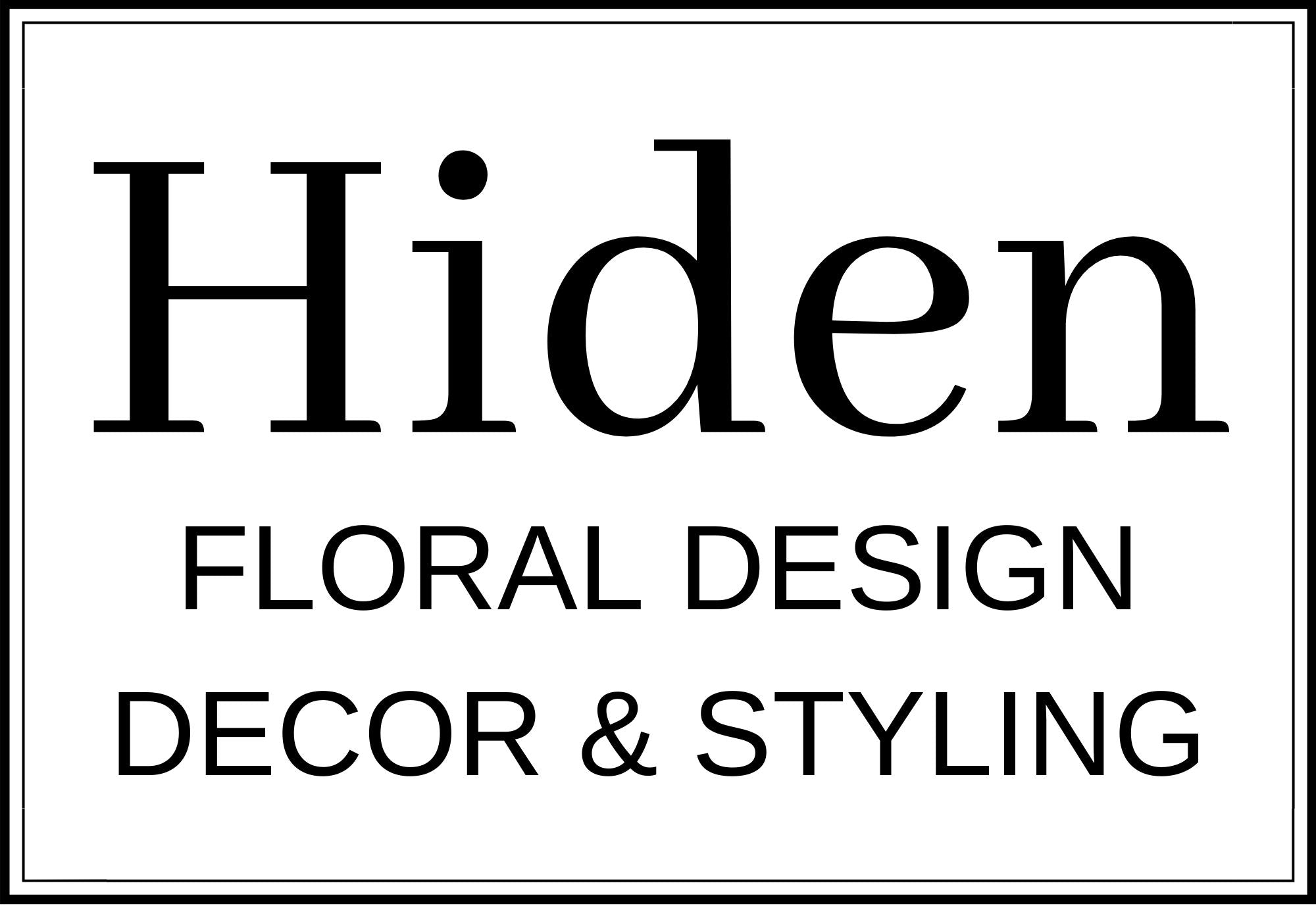 Hiden Floral, Decor & Styling