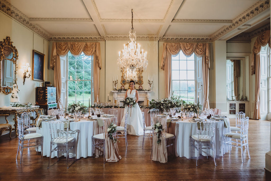 Prestwold Hall wedding flowers