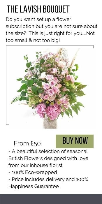 The lavish flower subscription