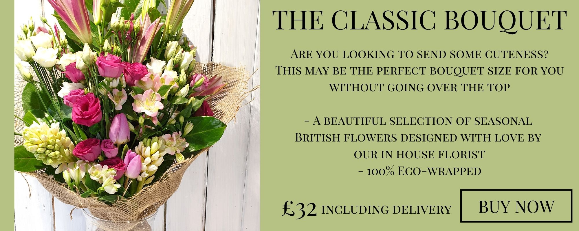 The Classic Bouquet Subscription