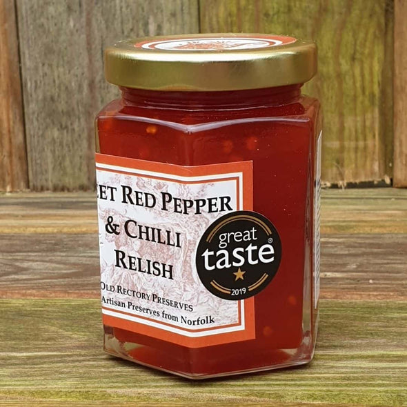 Sweet Red Pepper & Chilli Relish VEGAN FRIENDLY
