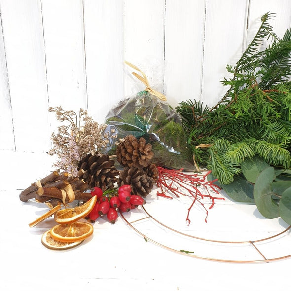 Natural Christmas arrangement MAKING KIT
