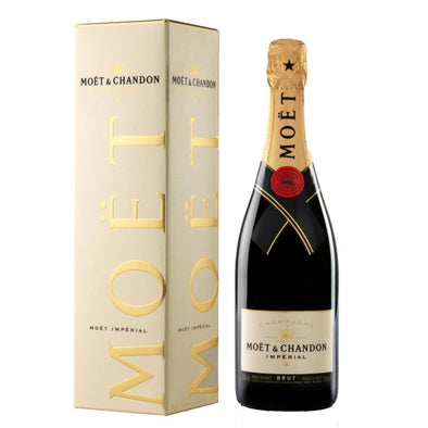 Moet & Chandon Imperial Brut Champagne 75cl Gift Boxed