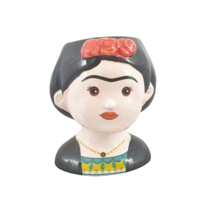 Small Frida Kahlo Ceramic Pot