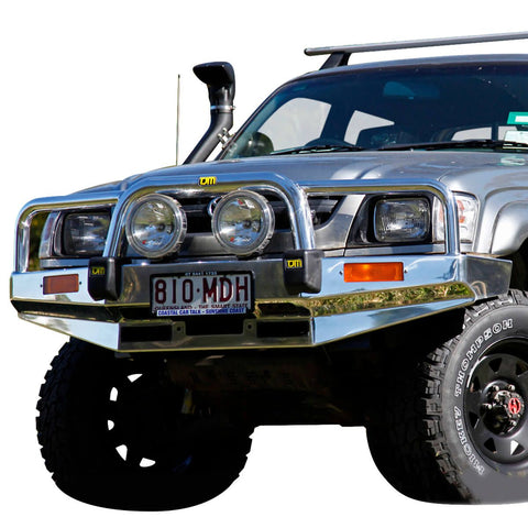 T15 Signature Alloy Winch Bar Hilux 11/01-2/05