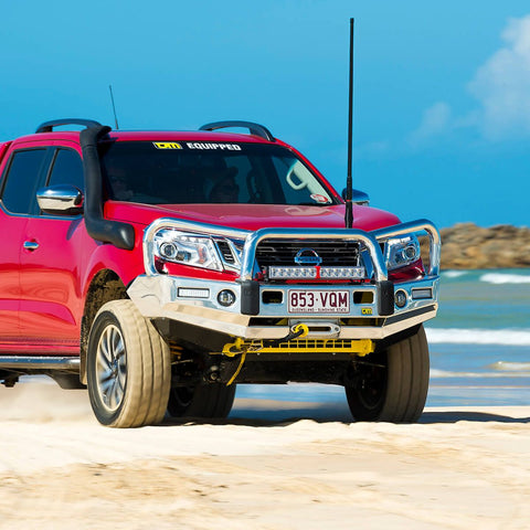 T15 Signature Alloy Winch Bar Navara NP300 4/15+