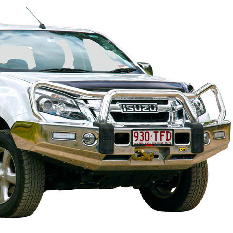 T15 Signature Alloy Winch Bar Isuzu Dmax 6/12-1/17