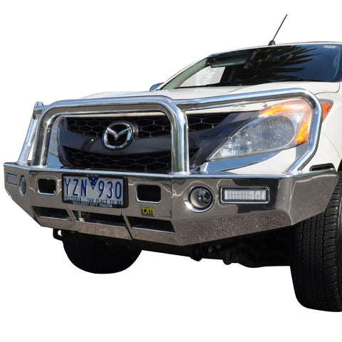 T15 Signature Alloy Winch Bar Mazda BT50 10/11+