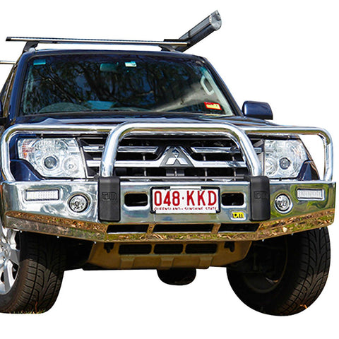 T15 Signature Alloy Winch Bar Pajero NS/NT/NW 11/06-6/14